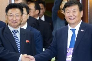 15일 북한 탁구 선수들 입국, 심야 체육회담에서 결정된 일들