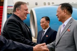 """폼페이오, '北 비핵화 못믿어' 지적에 """"지레짐작 마!"""" 일갈했지만…北 묵묵부답"""