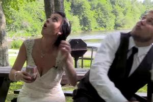 결혼식 날이 제삿날 될 뻔한 커플