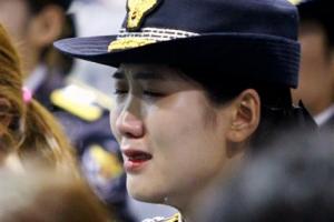 [포토] '눈물의 영결식'… 故 김선현 경감 마지막 길 애도