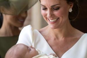 [포토] '왕위계승 서열 5위' 영국 루이 왕자 세례식