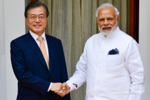 한·인도 교역 500억 달러로 대폭 늘린다
