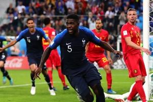 프랑스, 벨기에에 1-0 완승... 월드컵 결승 진출