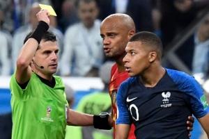 [월드컵] 프랑스 결승진출 '옥에 티' 음바페의 비신사적 행동