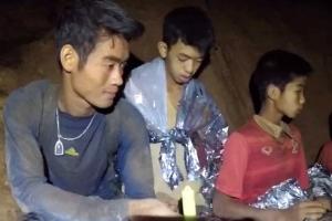 열흘 굶은 태국 동굴소년들, 2㎏ 빠져…감염·스트레스 없어