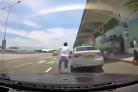 안타까운 김해공항 교통사고... 블랙박스 영상 공개