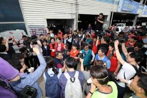 노량진수산시장 강제집행 충돌…일부 상인 반발에 무산