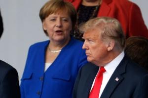 """트럼프의 """"독일 포로"""" 발언에 참모들 '흠칫'…메르켈은 신중대응"""