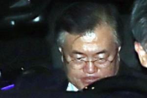 [포토] '귀국후 무거운 표정' 문재인 대통령