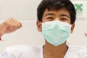 """태국 동굴소년들 19일 퇴원 """"구조해줘서 고맙습니다"""""""