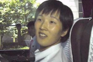 [서울포토] 밝은 표정의 북한 탁구선수
