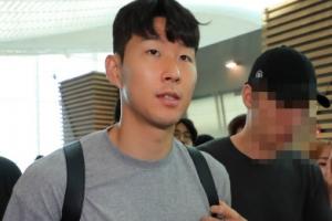 [포토] 휴식 끝…출국하는 손흥민