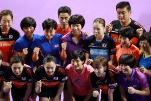 코리아오픈 탁구 '안방 우승'?…남북 단일팀도 후보