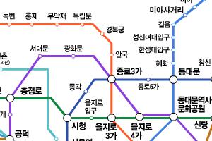 서울 지하철, 할아버지는 종로3가-할머니는 청량리 가장 많이 찾아