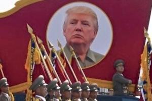 트럼프, 한미훈련 비용 아껴 北 모방한 136억원 열병식 여나
