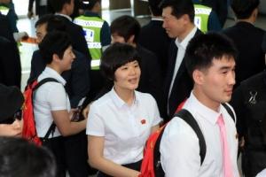 北탁구선수단, 북한으로 귀환…11월에 단일팀 재호흡
