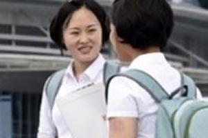 [포토] 북한 대학생들도 '백팩' 열풍