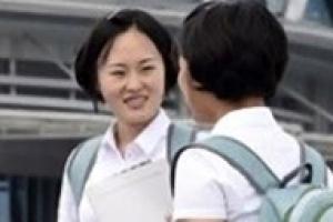북한 대학생들 유행 아이템 백팩