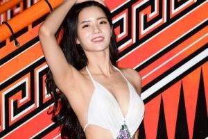 '비키니 코리아', 여린 외모에 탄탄한 몸매 '반전 매력' 정다혜