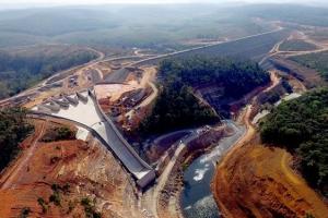 담수 규모 청평댐 6배… 계획보다 5개월 공기 단축