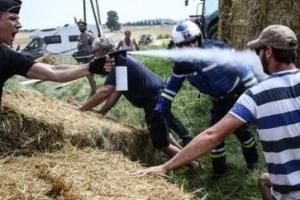 농민 시위에 막힌 트루 드 프랑스, 알라필리페 두 번째 구간 우승