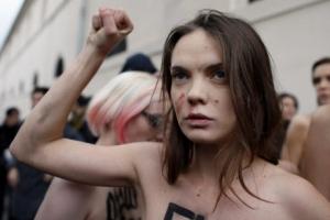 [포토] '반라 시위' 페멘 창립 여성운동가 샤츠코 숨진채 발견