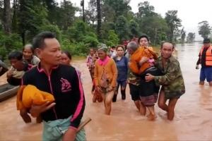 [라오스댐 붕괴 사고] 라오스 '긴급재난지역' 선포… 생존자 3000여명 긴급구조 난항…