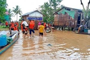 라오스 댐에서 쏟아진 물 국경 넘어 캄보디아까지…5천명 대피