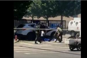 주중 미국대사관 부근서 폭발의심 사고 발생