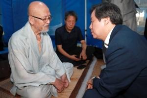 '설정 조계종 총무원장 퇴진' 요구했던 설조 스님 40일만에 단식 중단
