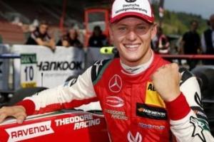 아버지 미하엘 슈마허가 F1 첫 우승한 서킷에서 아들이 F3 첫 우승