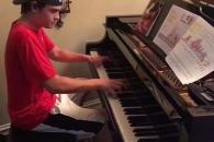 고객 감동시킨 피자배달부의 놀라운 피아노 연주