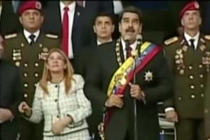 폭발물 드론 위협…베네수엘라 대통령 긴급 대피