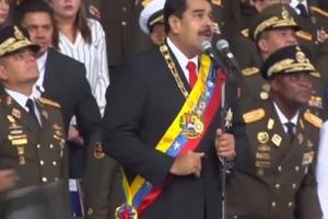 (영상) 드론으로 폭탄공격…마두로 베네수엘라 대통령 암살위기 모면