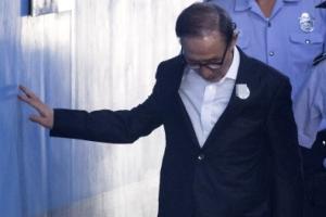 """MB 퇴원 후 첫 재판… """"김소남에게 공천헌금 2억원 받아"""" 김백준 자술서 공개"""
