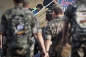 휴가 나온 해병대원, 시민 가방 빼앗아 달아나다가 체포
