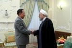 北리용호 만난 이란 대통령…