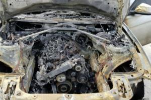 [포토] BMW 또 화재…올해만 36번째 '까맣게 타버린 차량'