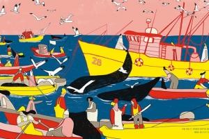 [이주의 어린이 책] 어부·갈매기·피서객… 여름 바다가 만든 풍경 속으로