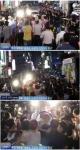 김경수 뒷덜미 폭행한 50대…