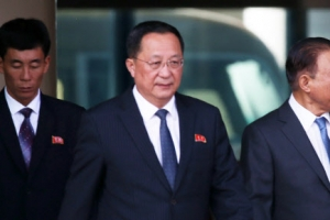 '핵지식 보존' 주장 리용호, 베이징 도착…질문엔 '묵묵부답'