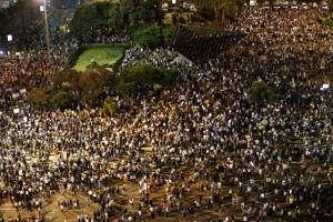 확산되는 '이스라엘 유대민족국가법' 반대 시위