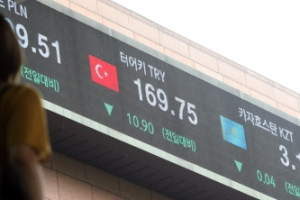 '터키발 공포' 아시아 금융시장 강타…주식·통화 급락