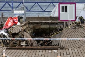 스페인서 해변 전망데크 무너져 300여명 부상
