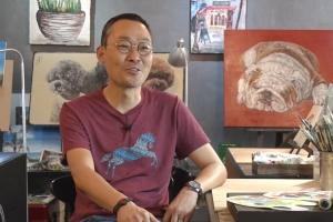 '또 다른 가족, 화폭에 기록하다' 반려동물 전문 김연석 서양화가