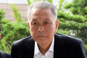 [서울포토] '석방 8일만에' 김기춘 전 청와대 비서실장 검찰 출석