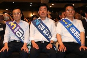 민주 당권주자 3인, '의원 공개지지' 두고 날 선 신경전