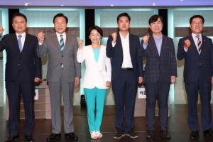 바른미래 당대표 후보들, TV토론서 '손학규 불가론' 협공