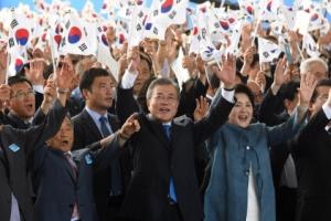"""文 """"여성독립운동가 발굴이 광복의 완성""""… 강주룡·제주 해녀 언급"""