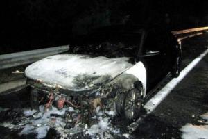 '그랜저도 불'…호남고속도로 곡성 부근 주행 중 화재